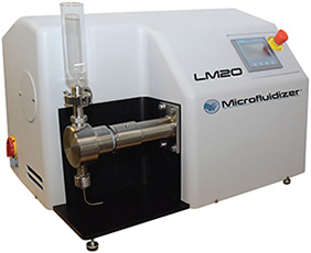 High Shear Fluid Processor Microfluidizer LM 20